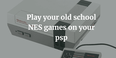 NES emulator for psp